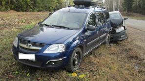 На 656 километре трассы Кострома – Шарья – Киров – Пермь в ДТП пострадали два человека
