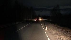В Кировской области, на трассе Киров - Советск - Яранск в ДТП пострадал пешеход