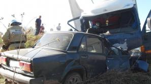 В Зуевском районе погиб мужчина в ДТП с грузовиком