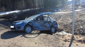 В Куменском районе в ДТП погиб водитель «Гранты»
