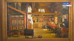 Искусство увидеть …История одной картины: «Интерьер избы в Русиново» 1983 год