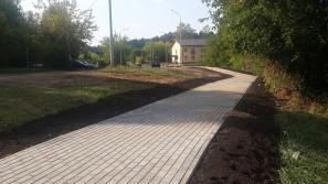 В Кирово-Чепецке в рамках «Народного бюджета» отремонтировали тротуары