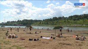 16 июня в Кирове официально откроют городской пляж