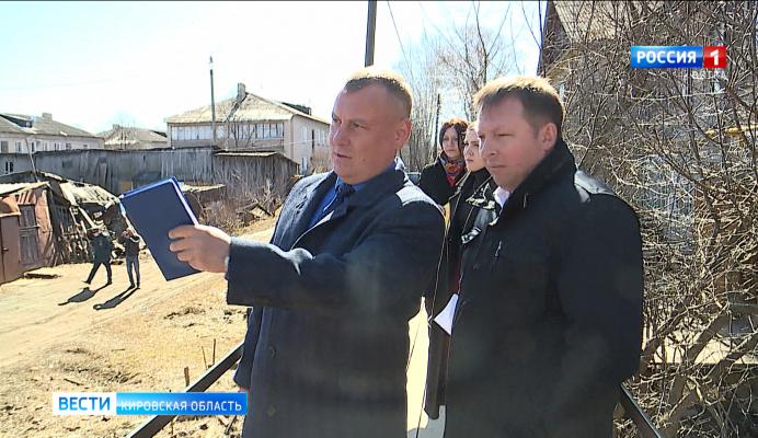 В Кирове проверили готовность городских служб к паводку