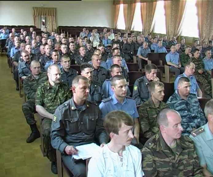 Кировские милиционеры выехали в командировку в Чечню