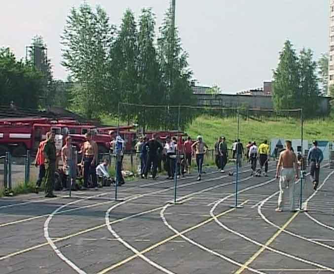 Чемпионат области по пожарно-спасательному спорту