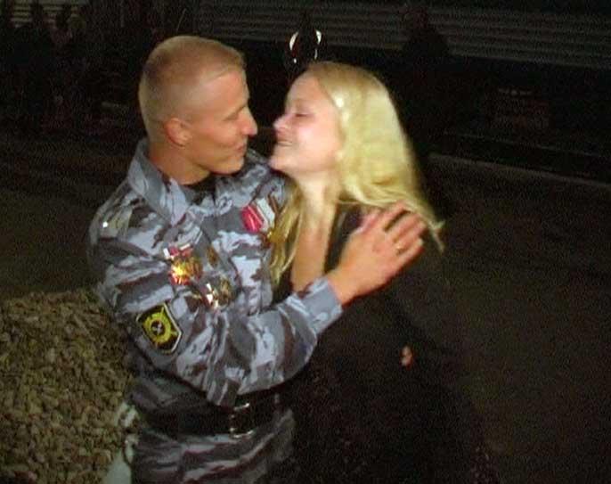 Кировские милиционеры вернулись из Чечни