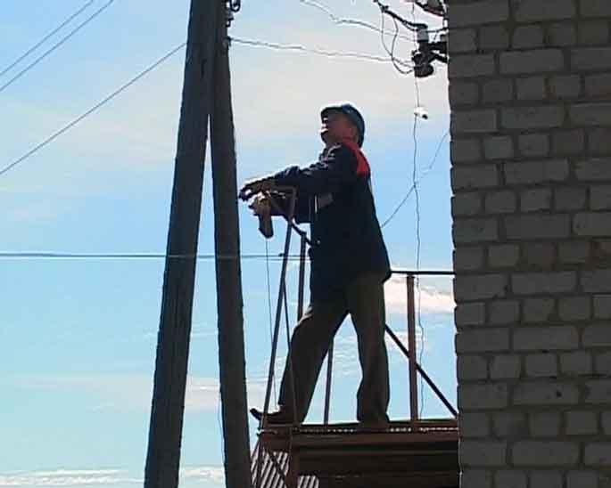 Требуется развитие электросетей