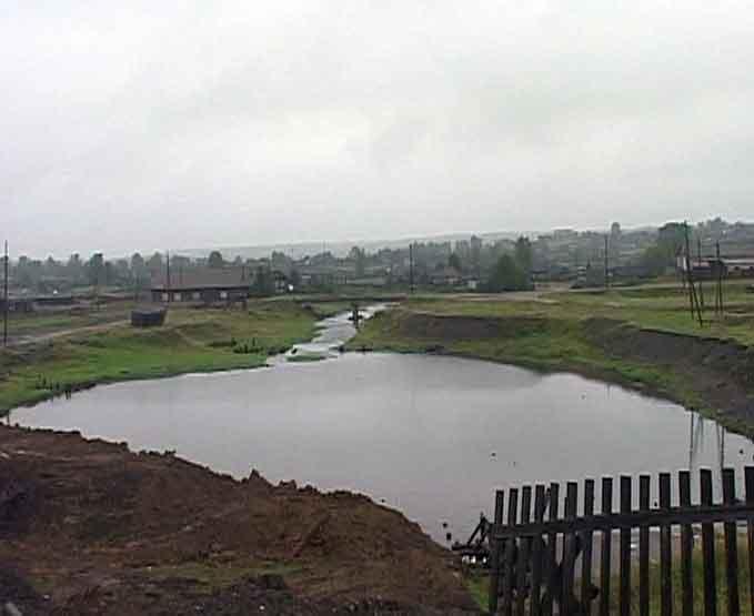 Строительство новой плотины