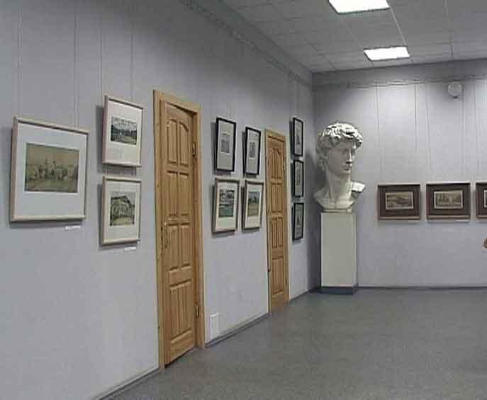 Открылась выставка Александра Плотникова