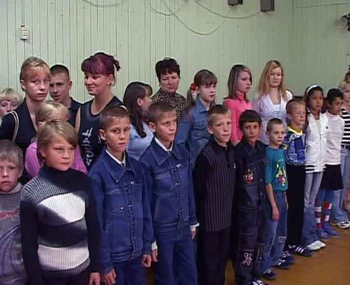 Подарок школе-интернату для слабослышащих детей