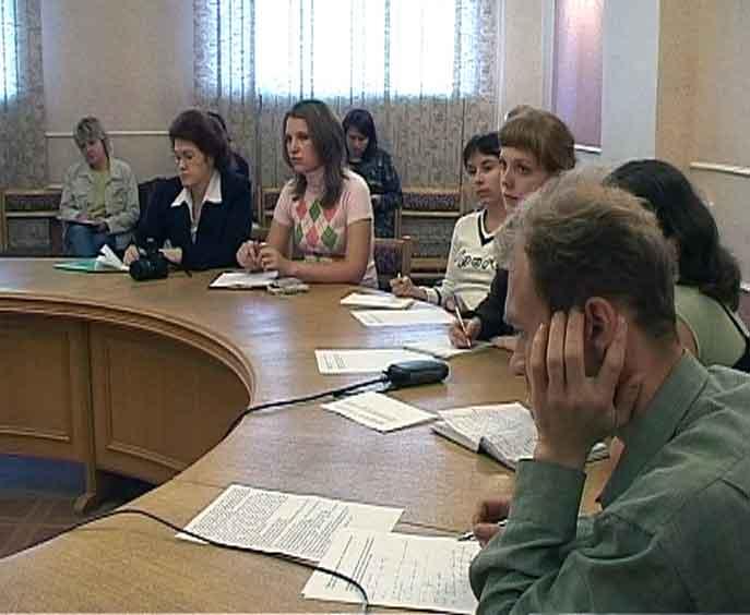 Экстренная пресс-конференция в Правительстве области