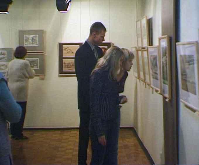 Выставка Александра Плотникова