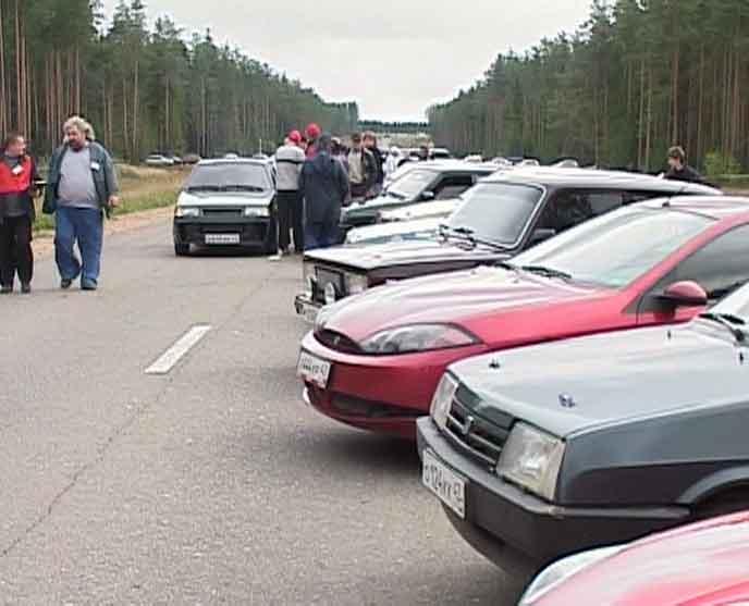 Автомобильные гонки в Слободском районе
