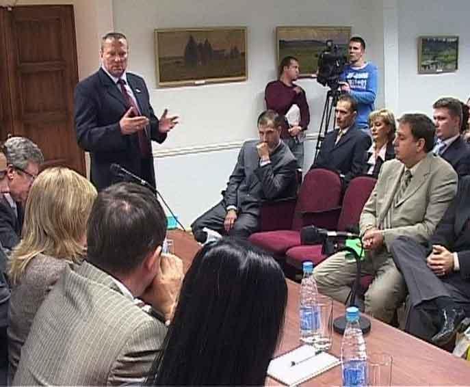 Знакомство болгарской делегации с Вяткой