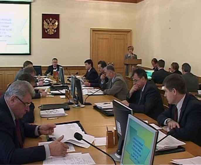 Внеочередное заседание правительства Кировской области
