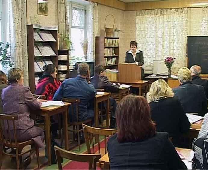 Совещание директоров школ Юрьянского района
