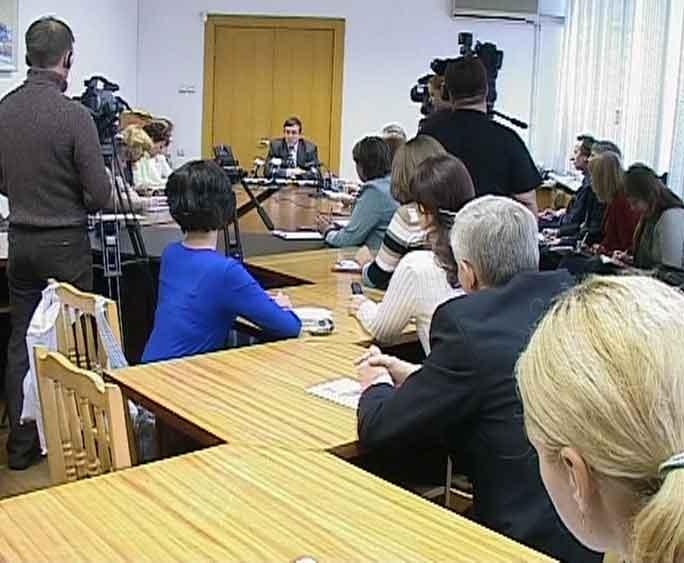 Пресс-конференция Геннадия Плехова