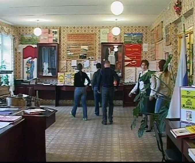 Школьный музей в поселке Безбожник