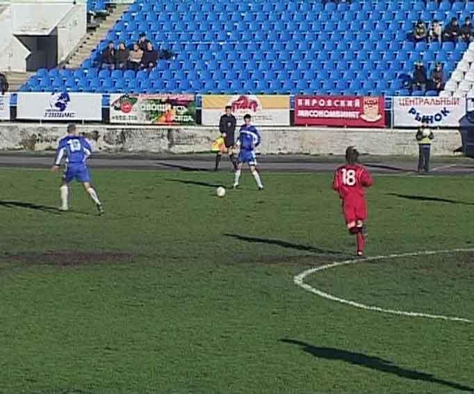 Матч «Динамо» - «Рубин-2»
