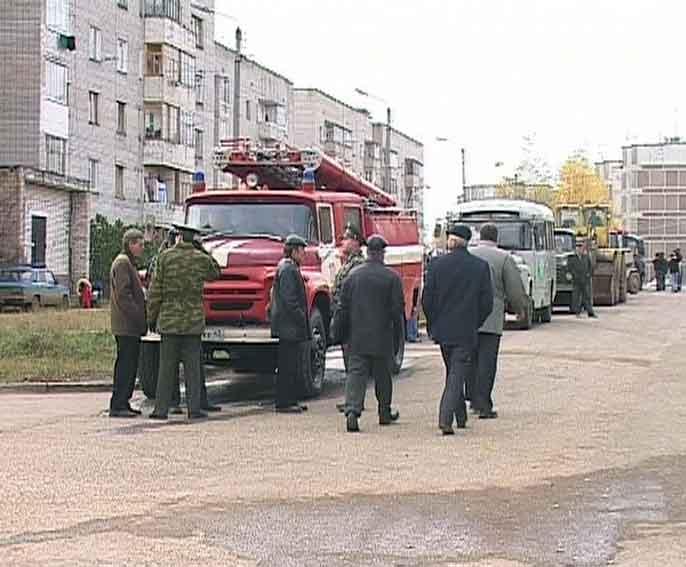 Командно-штабные учения в Нововятском районе