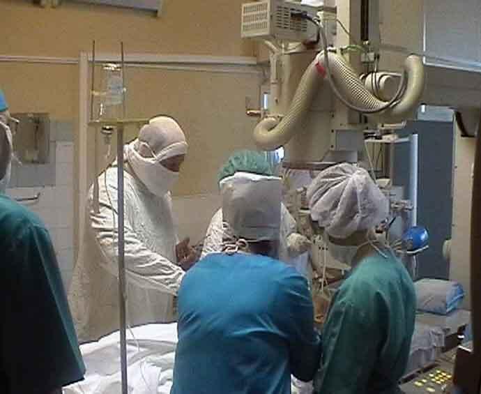 В Кирове проведена первая операция на закрытом сердце