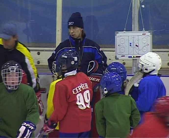 Подрастающие хоккеисты