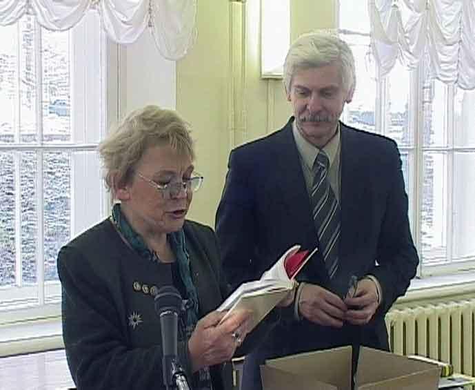 Мариэтта Чудакова в Герценке