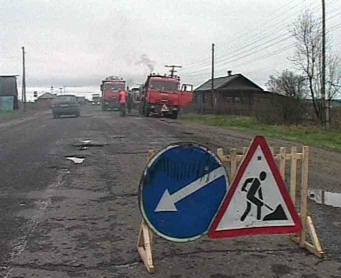 Ситуация с дорогами в Кировской области