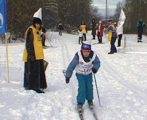 Новогодние лыжные гонки