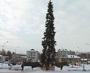 «Праздничный» город