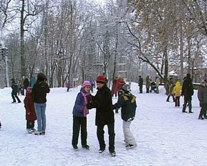 Новосел в парке Аполло
