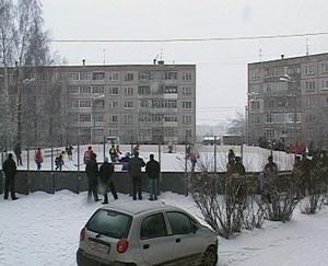 Вместо двора - спортивная площадка