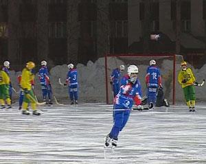 Матч кировской «Родины» в столице Поморья
