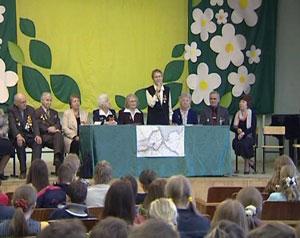 В школе № 14 прошла встреча блокадников-ленинградцев с детьми
