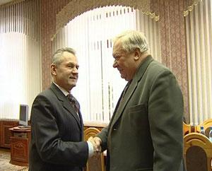 Встреча губернатора Кировской области с Владиславом Казениным