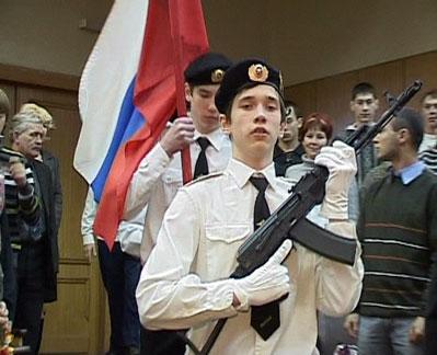 Старт месячника военно-патриотического воспитания детей и молодежи