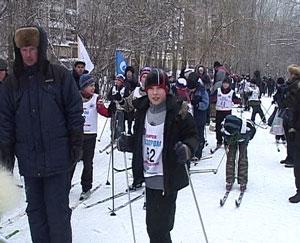 Более 160 юных лыжников соревновались за звание сильнейшего