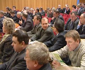 Первое заседание вновь созданного Союза лесопромышленников