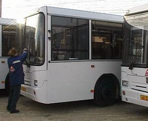 Автопарк областного центра пополнили десять новых автобусов