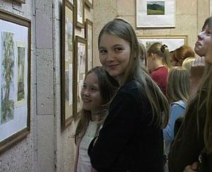 Выставка в Кировской художественной школе