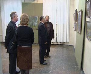 Встреча художников с представителями власти