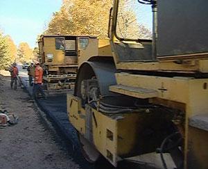 Владимир Быков - на ремонте дорог областного центра
