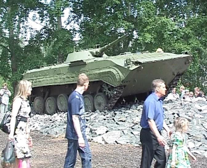 Бой на горной дороге - в центре Кирово-Чепецка