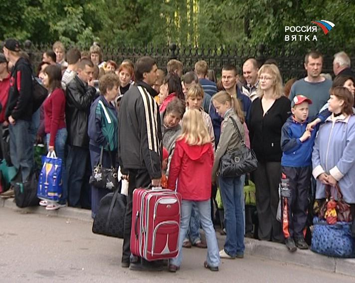 Дети-сироты едут в лагерь