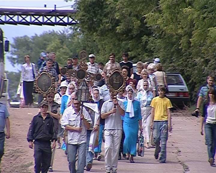 Крестный ход в Истобенске