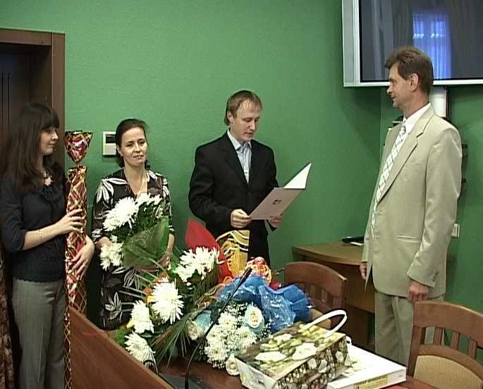 Юбилей судьи Олега Кулдышева