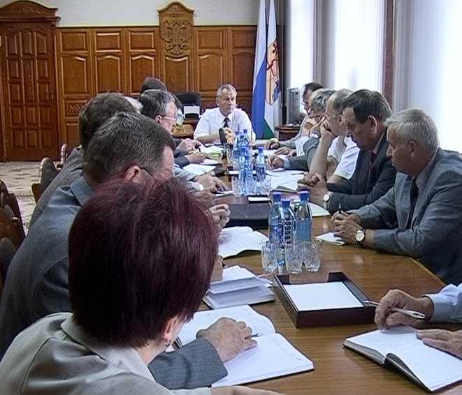 Оперативное совещание губернатора