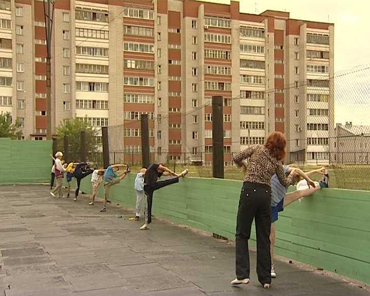 Тренировки  кировских фигуристов в межсезонье