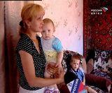Большая семья в поселке Даровской